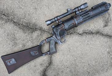 Boba Fett Blaster Rifle Star Wars Cosplay Prop by firebladecomics