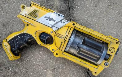 Borderlands style Nerf Maverick Gun Prop by firebladecomics