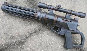 Boba Fett style Blaster Pistol dart gun repaint