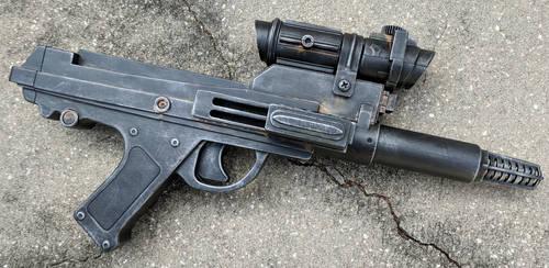 Custom Blaster Pistol version 9 by firebladecomics