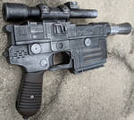 Han Solo's DL-44 Blaster Pistol Nerf Gun Repaint