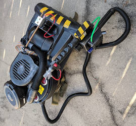 Custom Ghostbusters Proton Pack cosplay prop