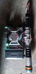 Custom Ghostbusters 2016 Reboot Proton Pack by firebladecomics