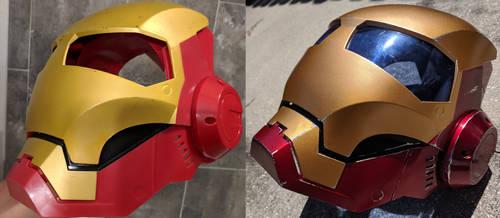 Iron Man Toy Helmet Repaint