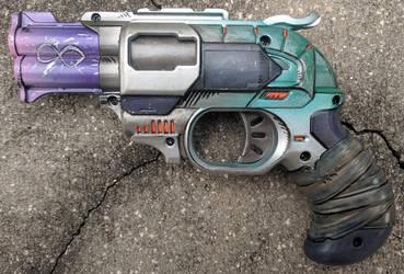 Custom Borderlands style Nerf Doublestrike by firebladecomics