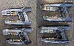 Star Lord Nerf Blasters repaint