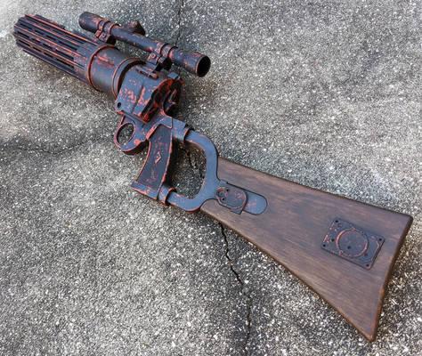 Boba Fett EE-3 Blaster Carbine Rifle prop repaint
