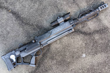 Punisher Sniper Rifle cosplay prop