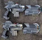 Nerf Phoenix LTX Lazer Tag gun repaint