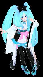 MMD Hatsune Miku Full Model