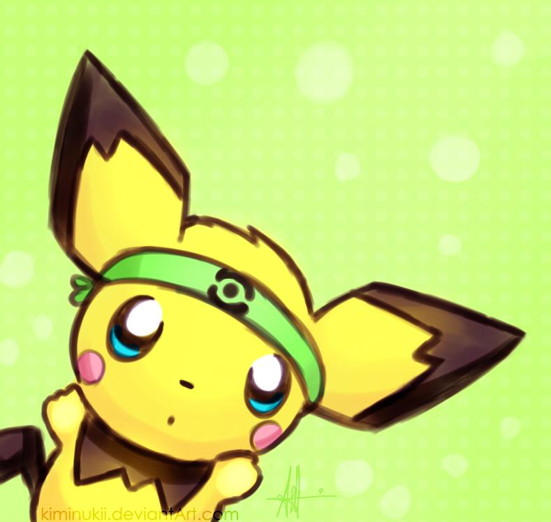 Cute Baby Pichu