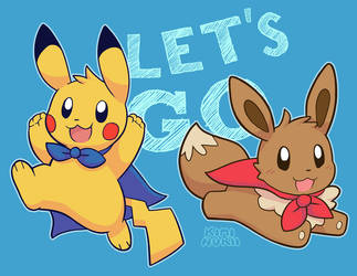 Let's Go! by Kiminukii