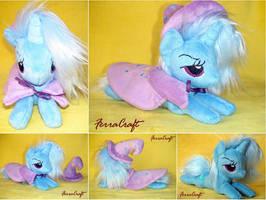 Trixie plush pony for Sale by FerraCraft