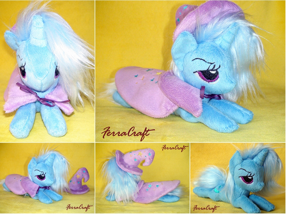 Trixie plush pony for Sale by FerraCraft