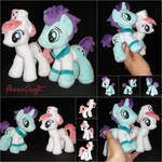 Redheart and Doctor plushies