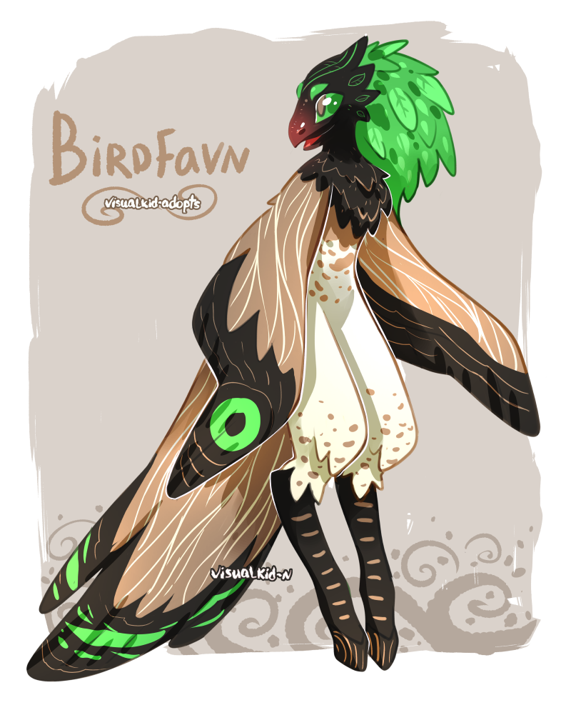 [CLOSED] Birdfavn adopt Raffle by visualkid-adopts