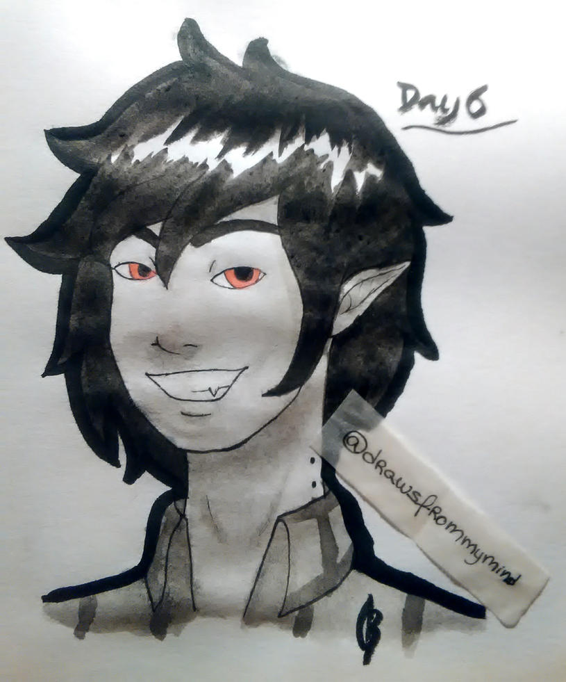 Inktober2017 Day#6 by DrawsFromMyMind