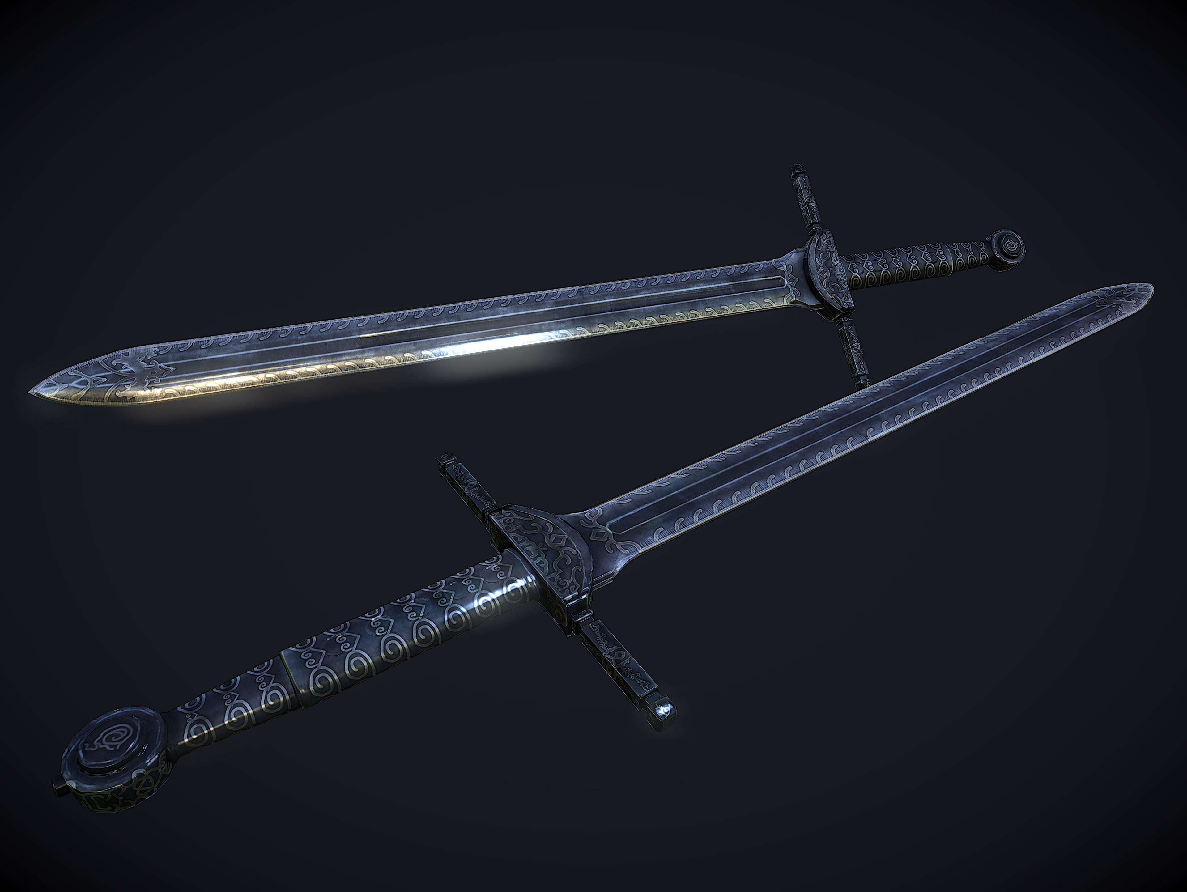 ebony sword skyrim - photo #16