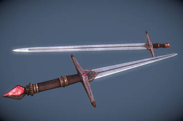 Sword of the Crusader by InsanitySorrow