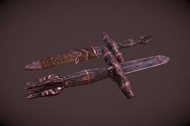 Blade Of Woe by InsanitySorrow
