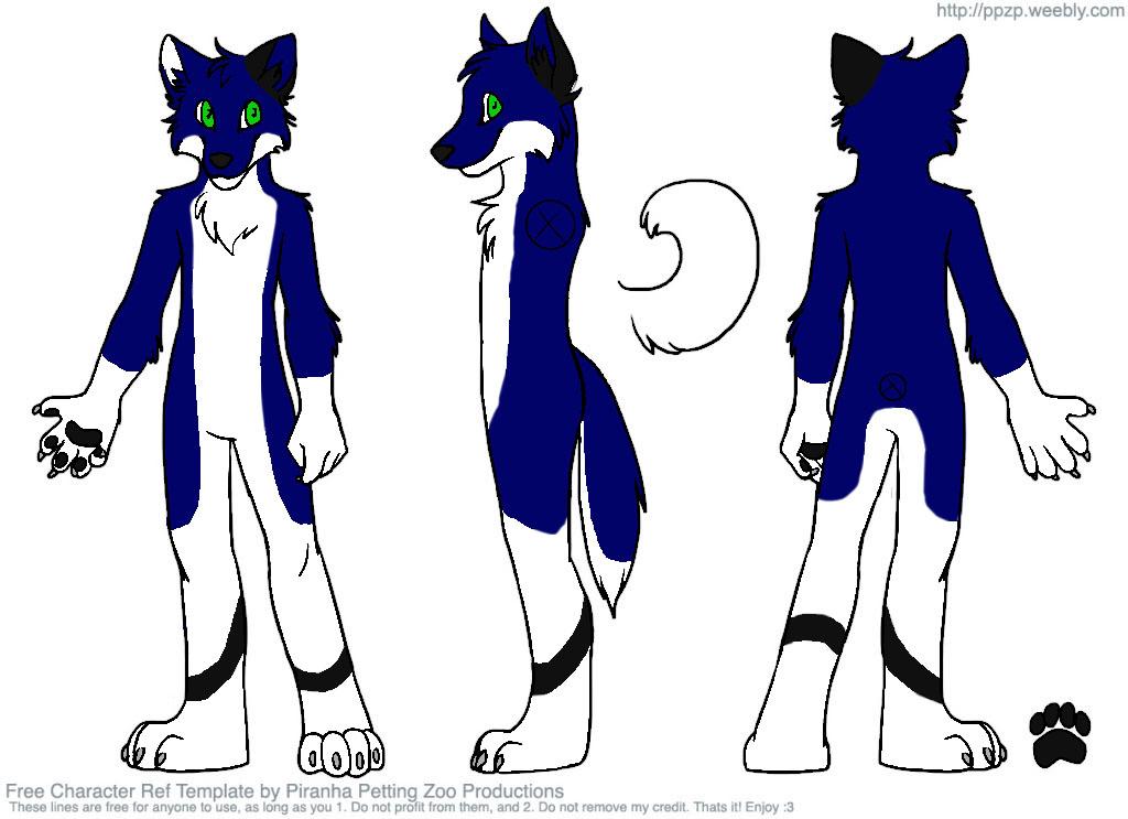 Kira Fursuit design 1 by Kira-chi on DeviantArt