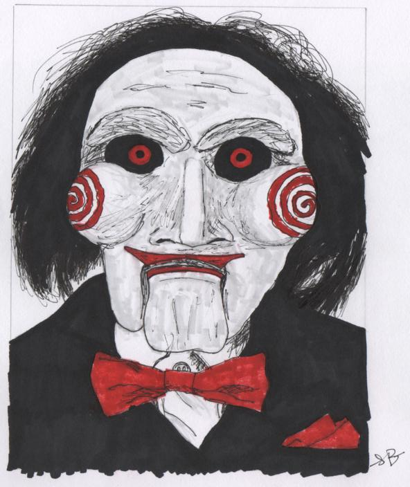 Jigsaw's puppet by freak-out-there on DeviantArt