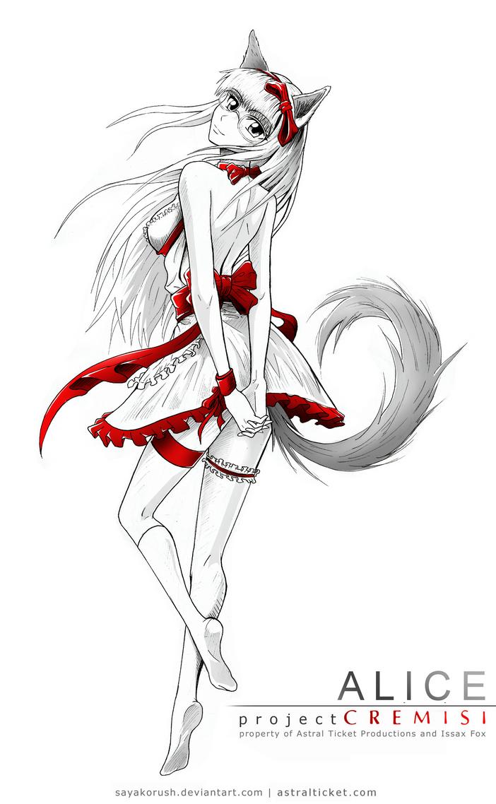 Alice character design by SayakoRush