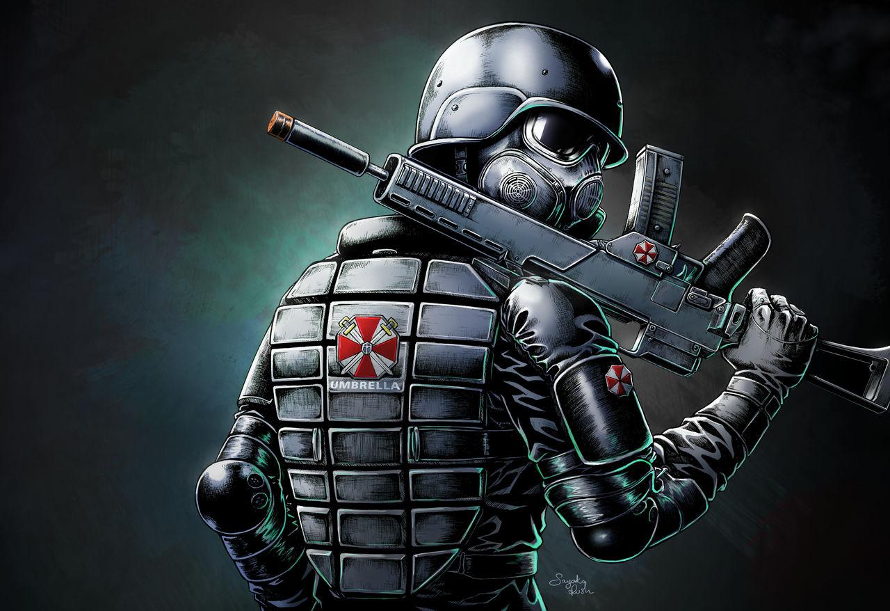 The Umbrella Soldier