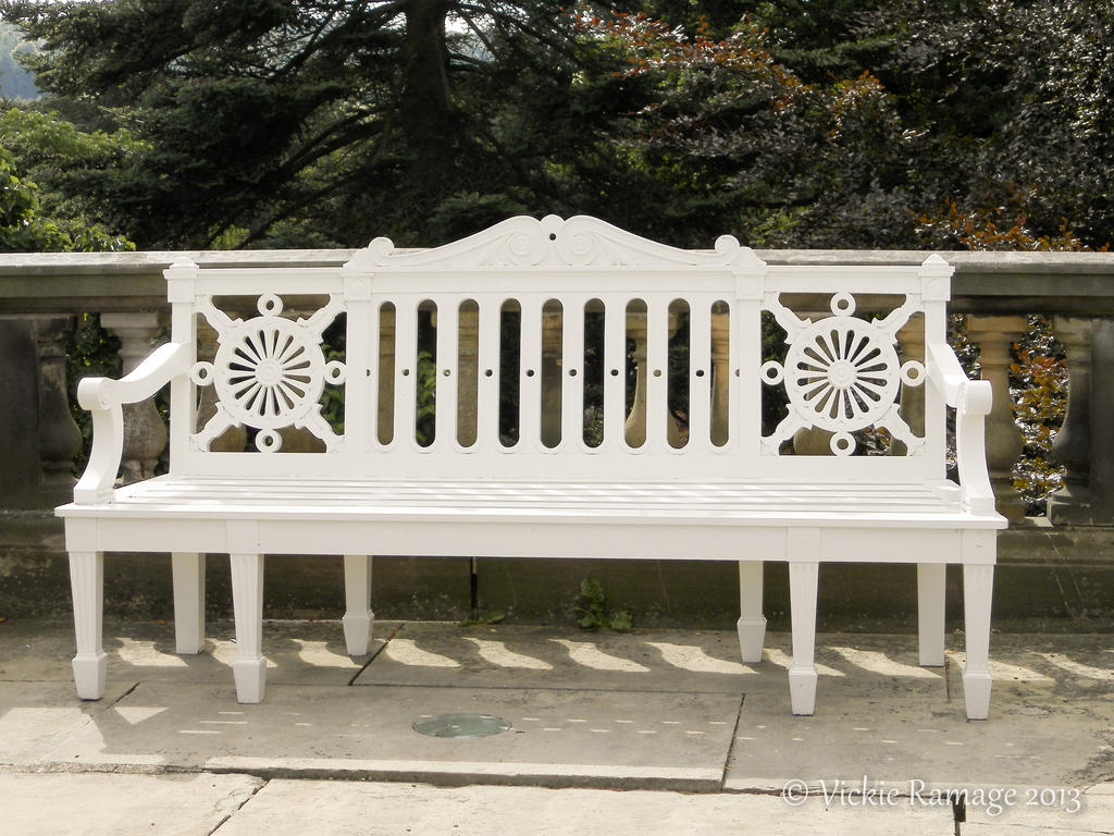 Bench harewood house uk by vickiedesigns on deviantart for Harewood house garden design