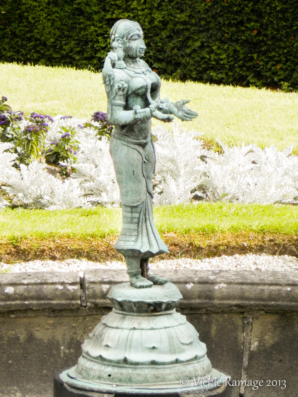 Fountains harewood house uk by vickiedesigns on deviantart for Harewood house garden design