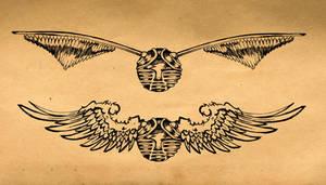 Golden Snitch Tattoo 2