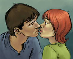 George and Alanna by blindthistle