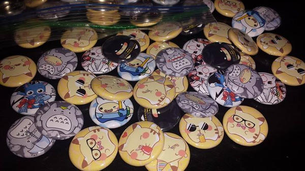 Pikachu Buttons (And others)