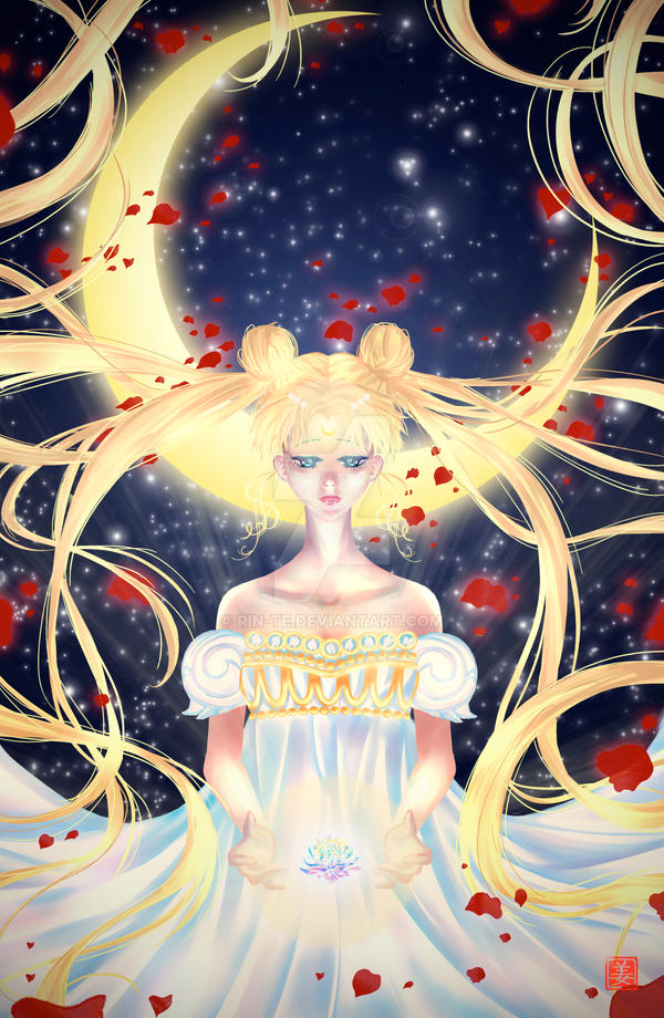 Princess Serenity by Rin-Te