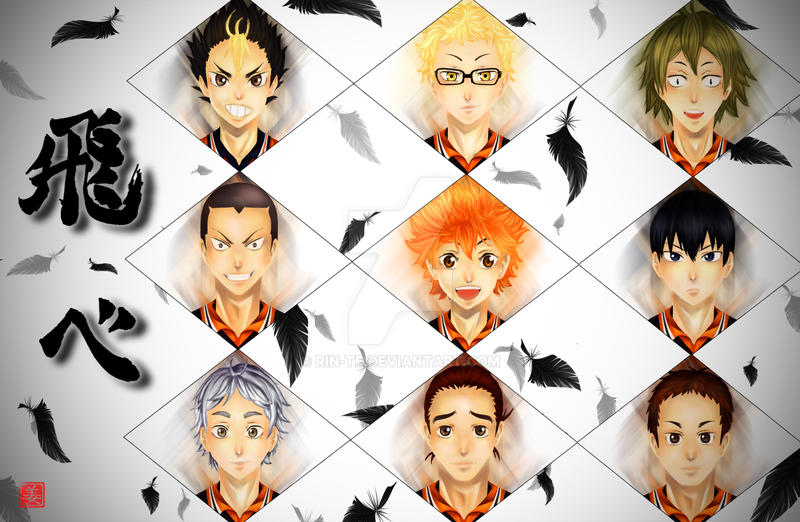 Haikyuu! by Rin-Te