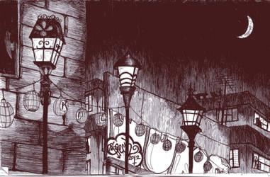 Lamplight by cyborgdeer
