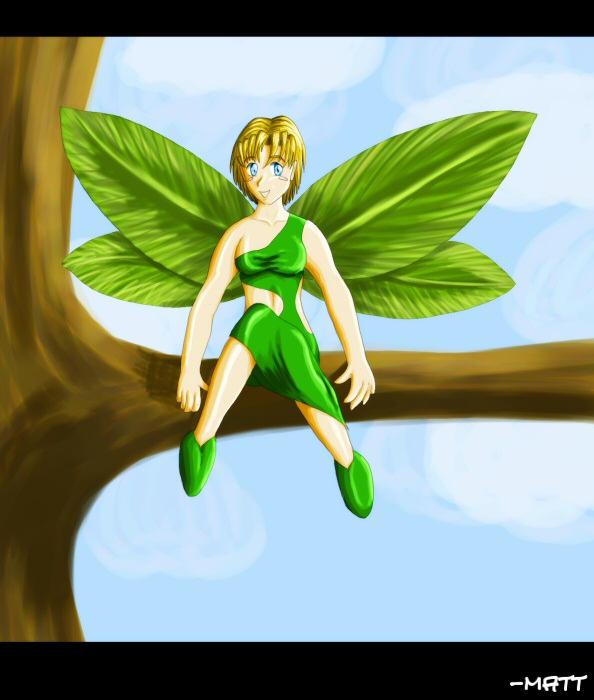 Earth Fairy by pseudoenergy on DeviantArt