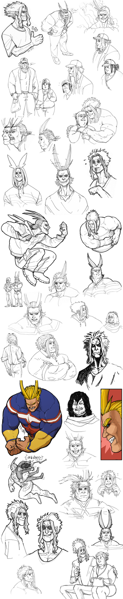 All Right All Might by Iceway
