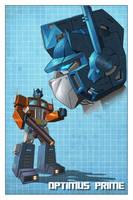 Optimus Prime Profile by Teyowisonte