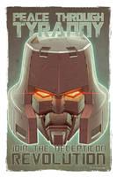 Megatron Botcon 2013 Pinup by Teyowisonte