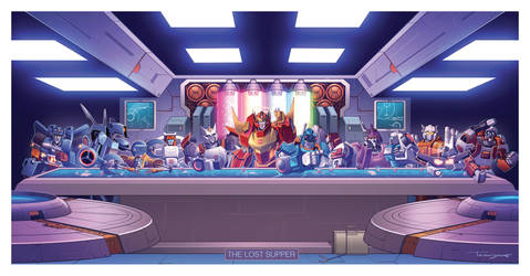 MTMTE Last Supper by Teyowisonte