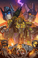 Transformers Timelines #9 Cover by Teyowisonte