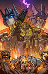 Transformers Timelines #9 Cover