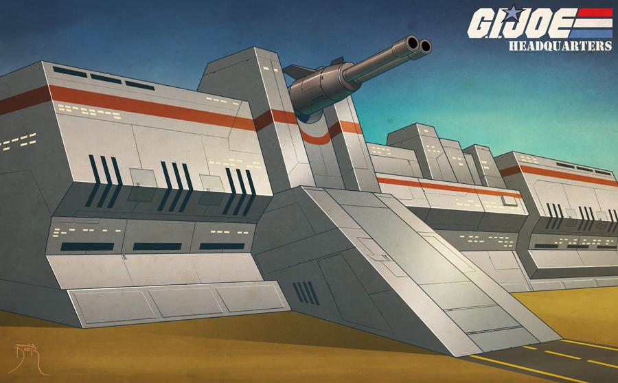 GIJoe Headquarters Pinup by Teyowisonte