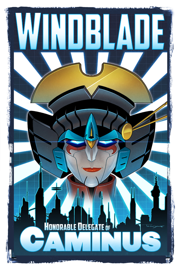 Windblade Pinup_Botcon 2015 by Teyowisonte