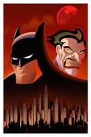 Batman Animated Tribute by Teyowisonte