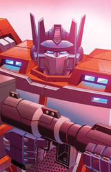 Optimus Prime #17 Cover
