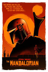 The Mandalorian Fan Poster