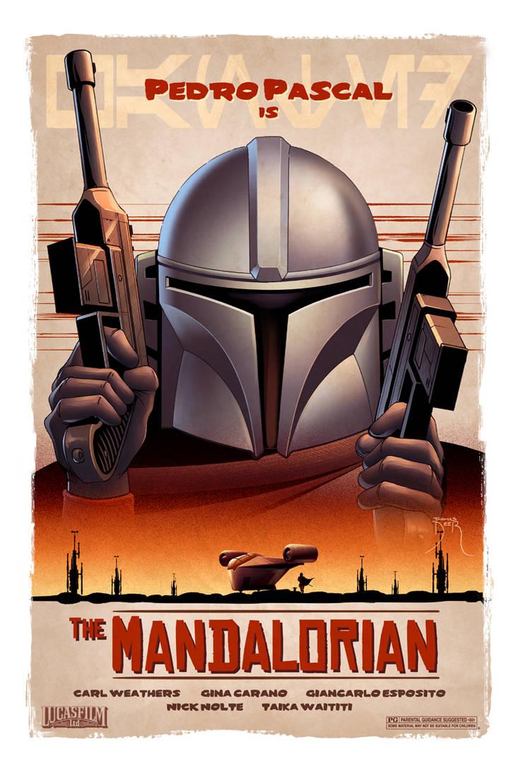 Mandalorian Fanart
