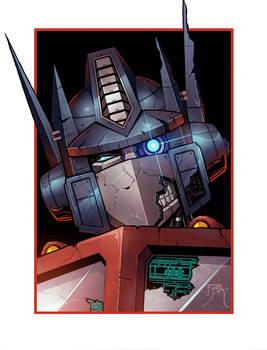 Zombie Optimus Prime